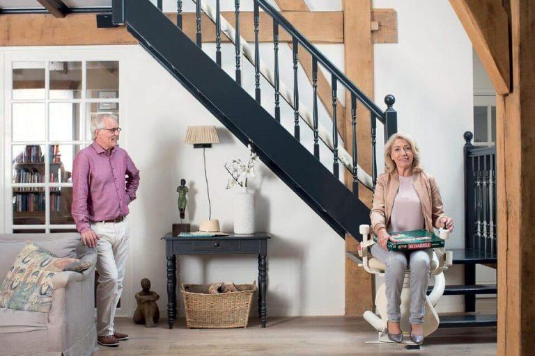 monte escalier pour famille